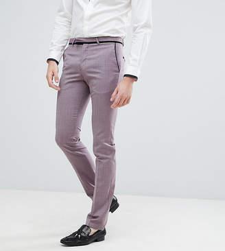 Noose & Monkey TALL Super Skinny Tuxedo Suit Trousers