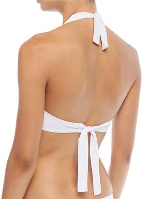 Letarte Halter Bikini Top w/Ring