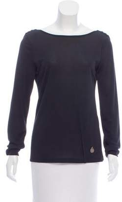 Galliano Long Sleeve Knit Top
