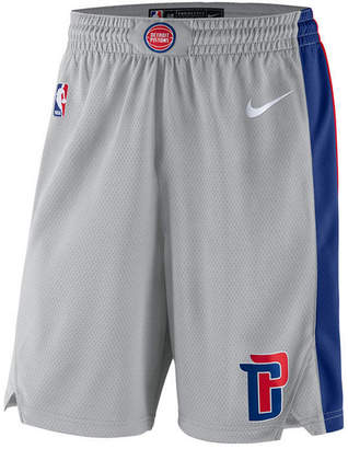 Nike Men's Detroit Pistons Statement Swingman Shorts