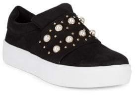 Ditmars Embellish Slip-On Sneakers