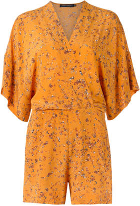 Andrea Marques printed playsuit