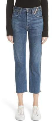 Atelier Jean Hunter Side Zip Crop Jeans