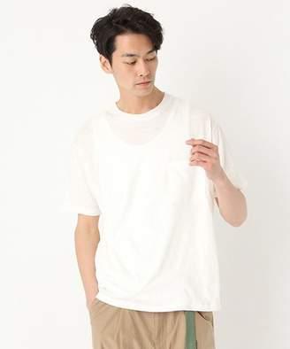 niko and (ニコ アンド) - リネンコットンポケットTシャツ