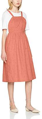 PepaLoves Women's Juliana Peach Casual Dress,X-Small