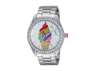 Betsey Johnson Ice Cream Cone Motif Dial Watch