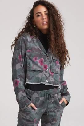 Bella Dahl Floral Camo Jacket
