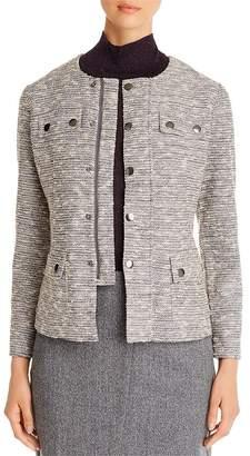 Nic+Zoe The Ritz Tweed Zip Jacket