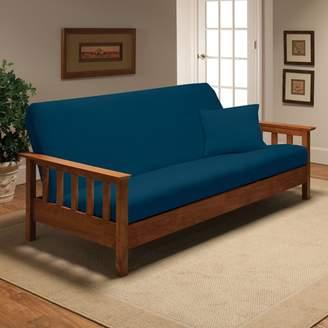 Andover Mills Box Cushion Futon Slipcover