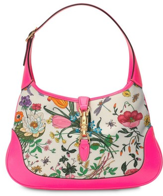 Gucci Jackie medium Flora hobo bag