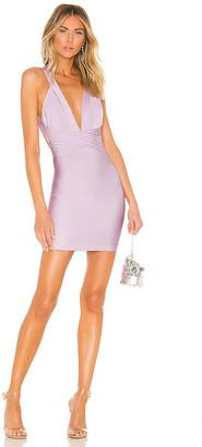 superdown Natalia Deep V Bandage Dress