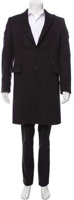 CNC Costume National Cashmere-Blend Pinstripe Jacket