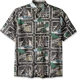 Reyn Spooner Men's 50th State Flower Button-Front Shirt