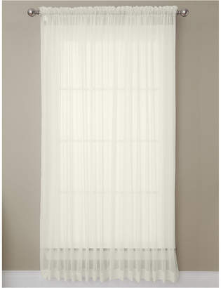 "Miller Curtains Solunar Voile 54""x 95"" Insulating Sheer Curtain Panel"