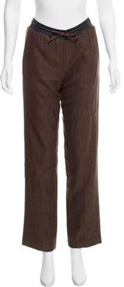 Hotel Particulier Knit Mid-Rise Pants