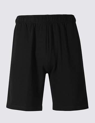 Marks and Spencer Cotton Rich Sweat Shorts