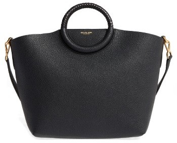 MICHAEL Michael KorsMichael Kors Skorpios Leather Market Bag - Black
