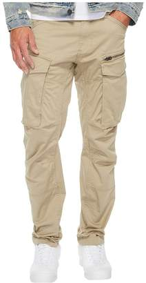 G Star G-Star Rovic Zip 3D Tapered Fit Pants in Premium Micro Stretch Twill Dune Men's Casual Pants