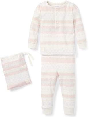 Ralph Lauren Fair Isle Cotton Pajama Set