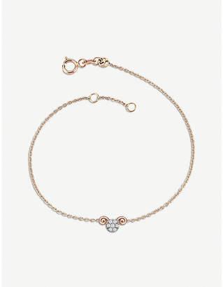 Rosegold The Alkemistry Kismet by Milka 14ct rose-gold and diamond Aries bracelet
