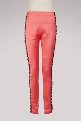 Koché Embroidered leggings