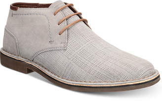 Kenneth Cole Reaction Men's Desert Sun Textured Suede Chukka Boots Men's Shoes
