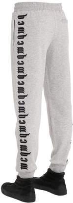 McQ Printed Cotton Sweatpants