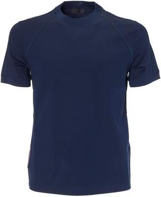 Prada Linea Rossa Pipe Trim T-shirt