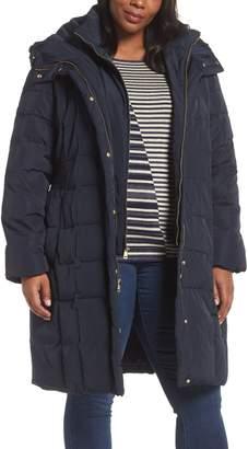 Cole Haan Bib Inset Coat