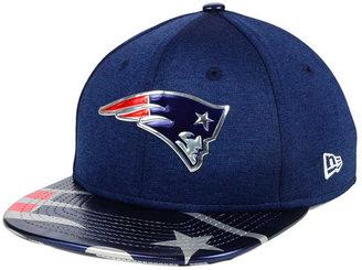 New Era Boys' New England Patriots 2017 Draft 9FIFTY Snapback Cap $32 thestylecure.com