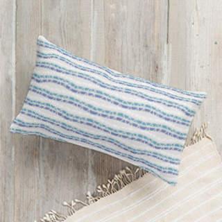 Chevron Stripe Braids Self-Launch Lumbar Pillows