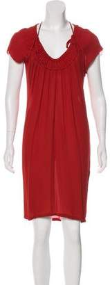 Stella McCartney Silk Knee-Length Dress