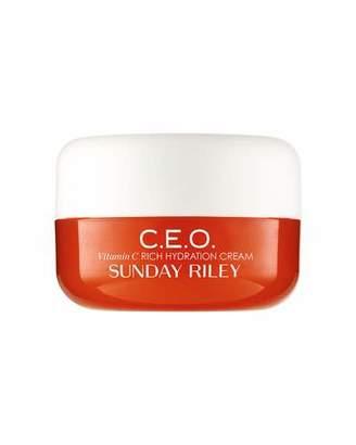 Sunday Riley Modern Skincare C.E.O. C + E antiOXIDANT Protect + Repair Moisturizer, 0.5 oz./ 15 mL