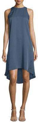 Theory Adlerdale Modern Georgette Silk Dress $355 thestylecure.com