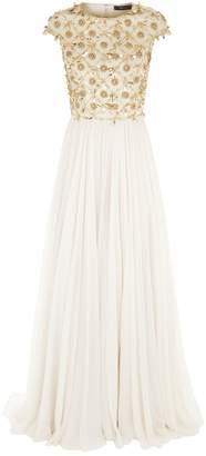 Jenny Packham Embellished Bodice Gown
