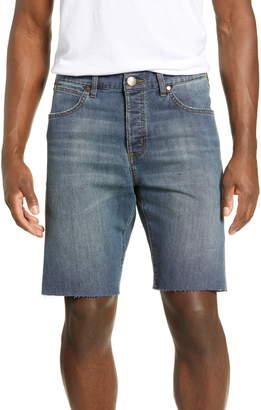 Wrangler Slider Tapered Cut Off Denim Shorts
