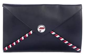 Chanel Coco Mail Envelope Clutch Navy Coco Mail Envelope Clutch