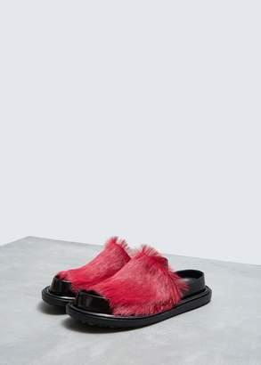 Marni Fur Fussbett Sandal