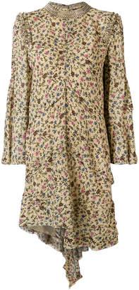 Chloé floral-print embellished dress