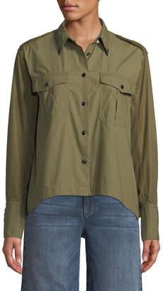 Rag & Bone Pearson Button-Down Cotton Shirt
