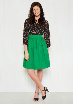 Compania Fantastica How in the Whirl? Skirt in Clover $44.99 thestylecure.com