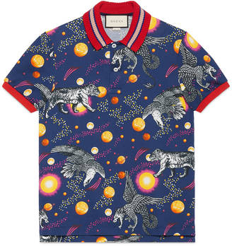 Space Animals print polo $840 thestylecure.com
