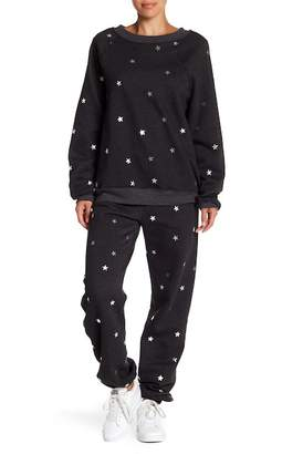 Wildfox Couture Twinkle Foil Sweatpants