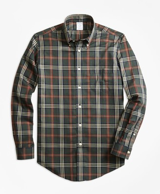 Brooks Brothers Non-Iron Regent Fit Signature Tartan Sport Shirt