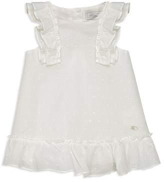 Tartine et Chocolat Girls' Textured-Dot Dress - Baby