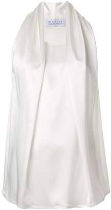 Gianluca Capannolo draped sleeveless blouse