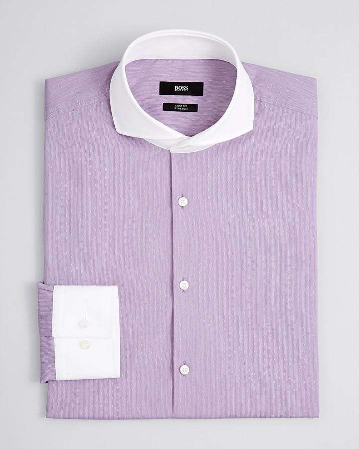 HUGO BOSS Johan Dobby Dress Shirt - Slim Fit
