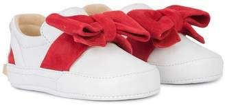 Buscemi Kids 40mm bow sneakers