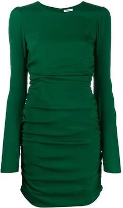 P.A.R.O.S.H. ruched mini dress