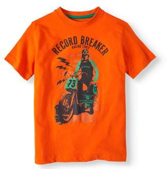 "Cherokee Boys' ""Record Breaker"" Graphic T-Shirt"